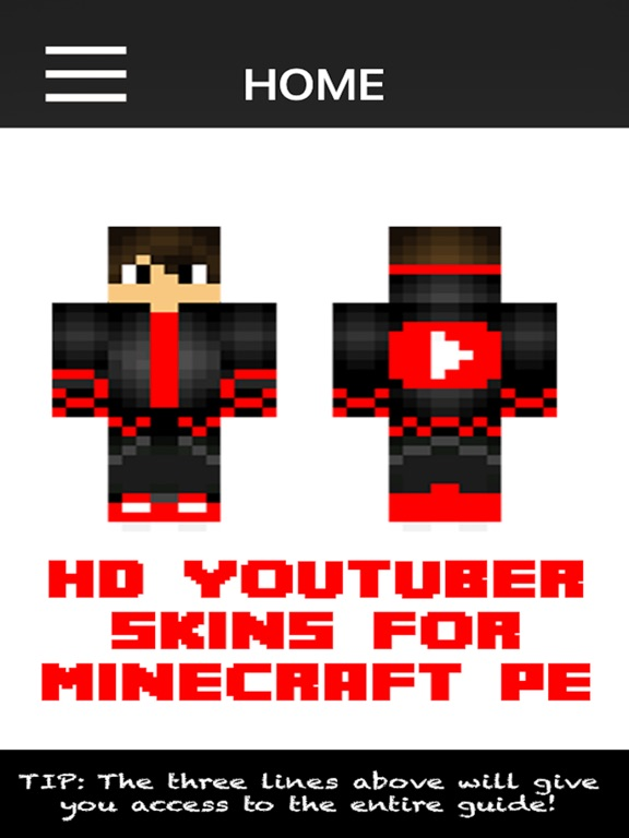 HD Youtuber Skins For Minecraft Pocket Edition App Price Drops - Skins para minecraft pe hd