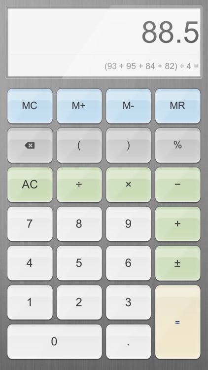 Calculator for iPad Free.