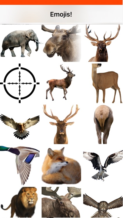 Hunting Emojis