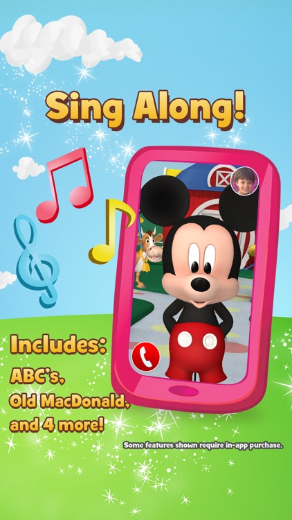 Disney Junior Magic Phone with Sofia the First and Mickey Mouse screenshot-4