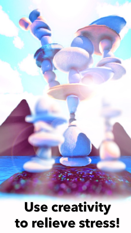 Zen Rock Balancing Simulator - Relax App for meditation, yoga and baby relaxation