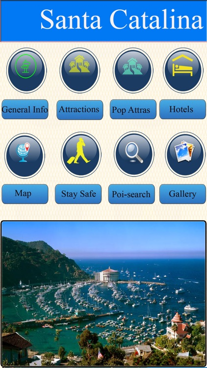 Santa Catalina Island Offline Map Travel Guide