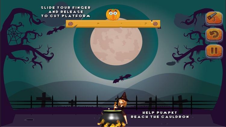 Puzzle Game - Cut the pumpkin screenshot-0