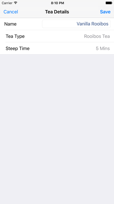iSteep - Tea Timer screenshot three