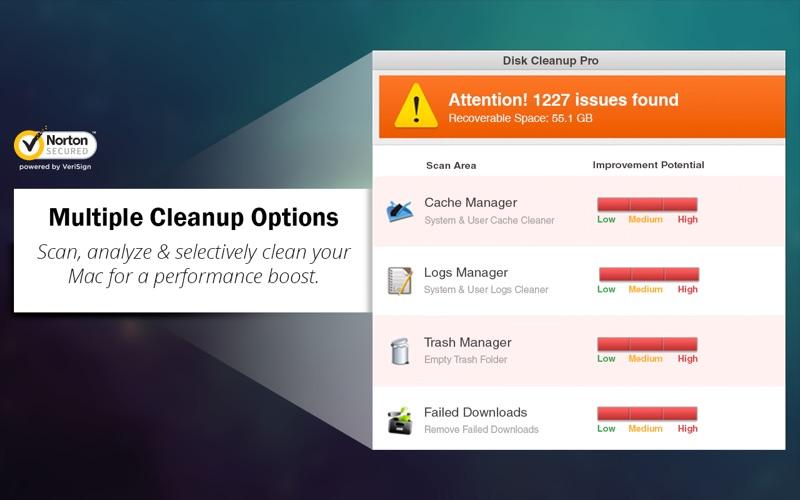 Disk Cleanup Pro - Boost Space скриншот программы 2