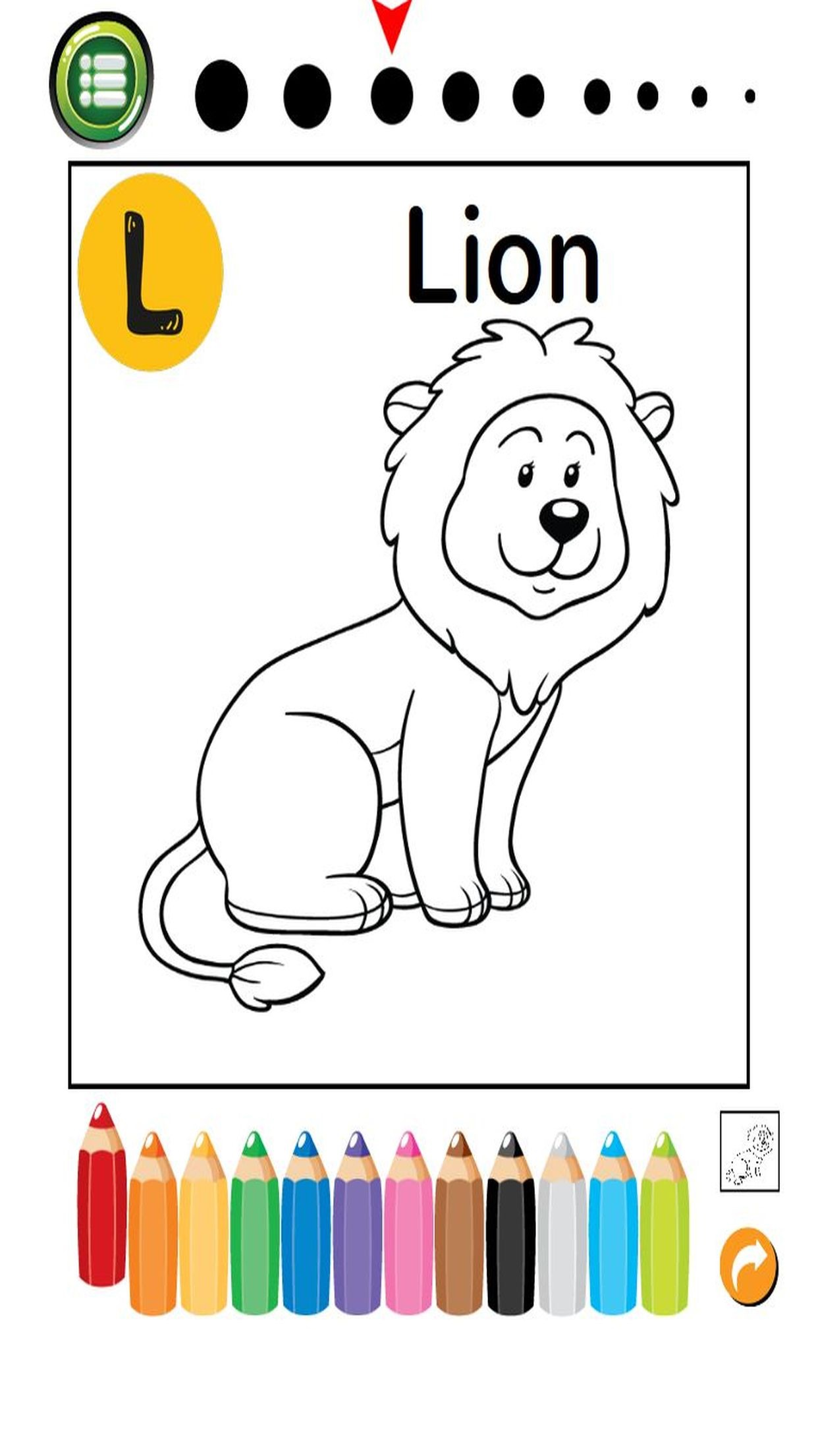 ABC Animals Coloring Book: Free For Toddler And Kids! Screenshot