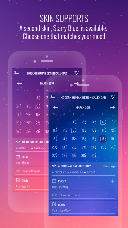 Modern Human Design Calendar screenshot-4