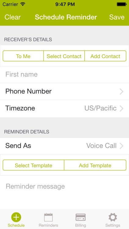 Zenefic - SMS & Voice Call Reminders and Appointment Scheduling App screenshot-4