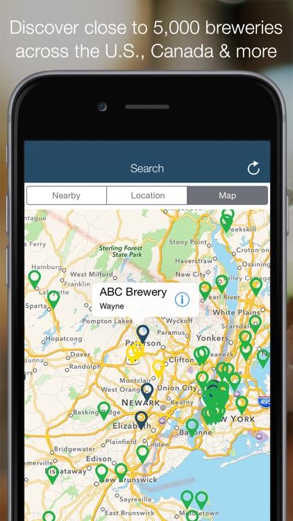 Brewery Passport - Craft Beer Finder