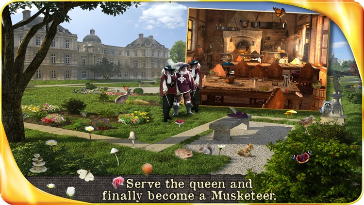 The Three Musketeers - Extended Edition - A Hidden Object Adventure screenshot-4