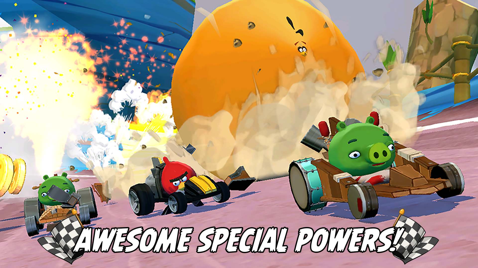 Angry Birds Go! screenshot 13