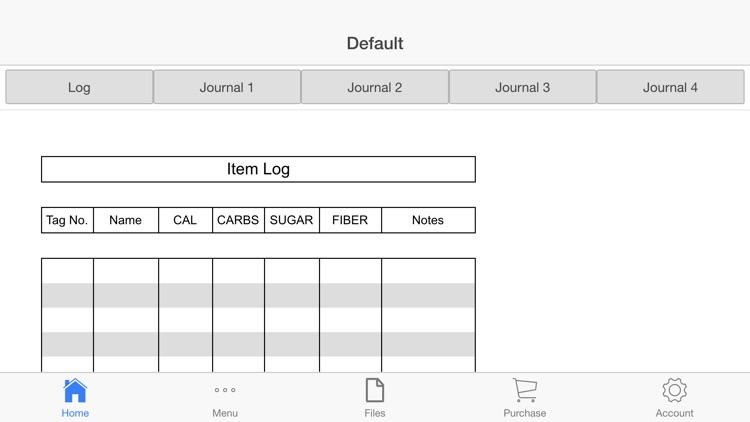 Nutrition Tracker screenshot-3
