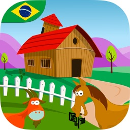 Adventure at the Farm for Kids (Brasilian Portuguese)