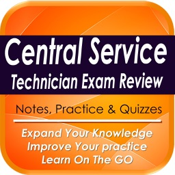 Central Service Exam Review: 1800  Study Notes,  Quizzes & Practical Tips