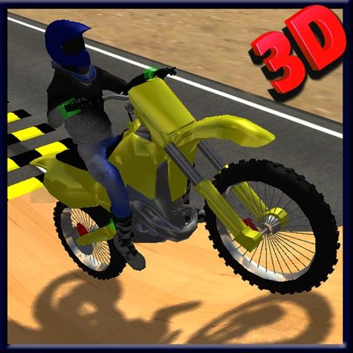 мото Stunt Bike симулятор 3D - в ярости высокоскоростной мотогонщиков и прыжки игры
