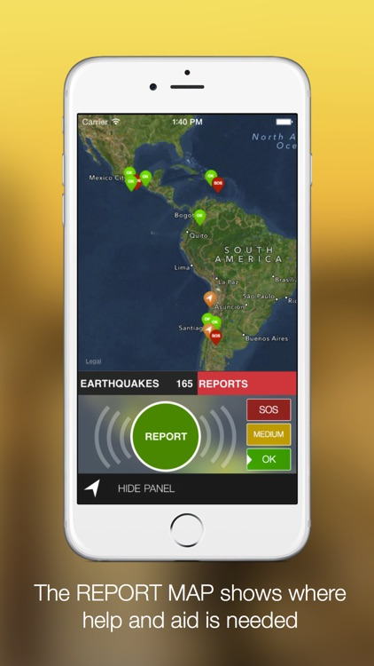 Latest earthquakes screenshot-3