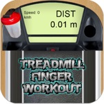 Treadmill finger workout