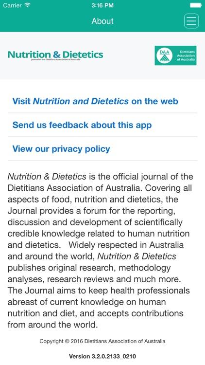 Nutrition and Dietetics screenshot-3