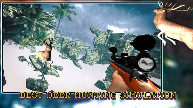 Sniper Deer Hunting Pro - Hunt Wild Jungle Animals in the Extreme Winter