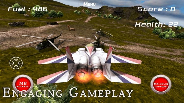 F-22 Raptor - Combat Flight Simulator of Infinite Airplane Hunter screenshot-4