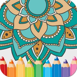 Coloring Books Mandala Adult Games For Relax 4