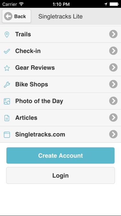 Singletracks Lite screenshot-0