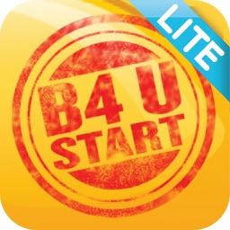 B4 U Start Lite  - More than just a checklist