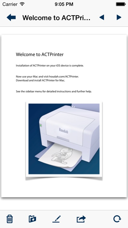 ACTPrinter - Virtual Printer