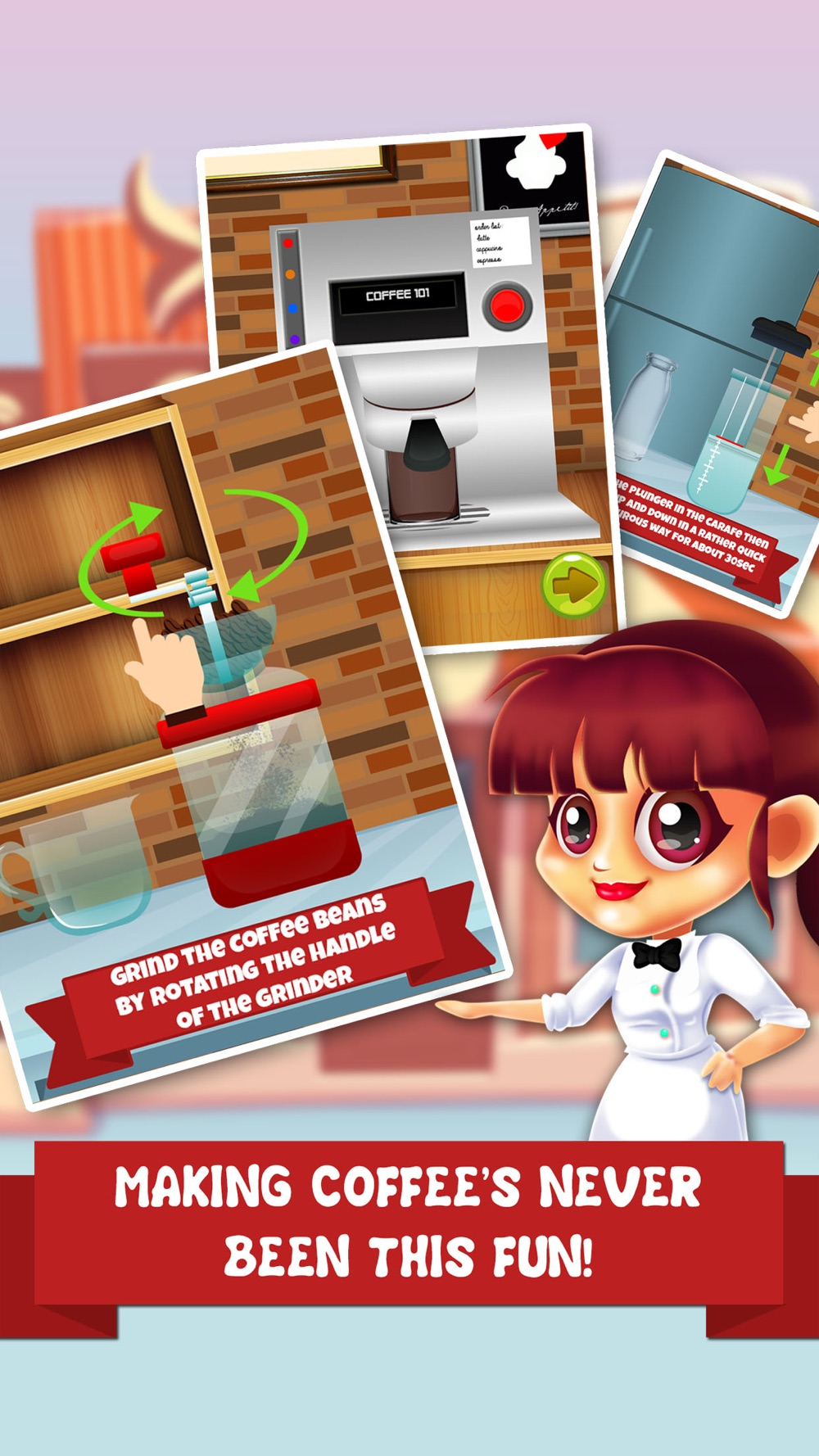 Coffee Dessert Making Salon – food maker games & candy ice cream make for kids! Cheat Codes
