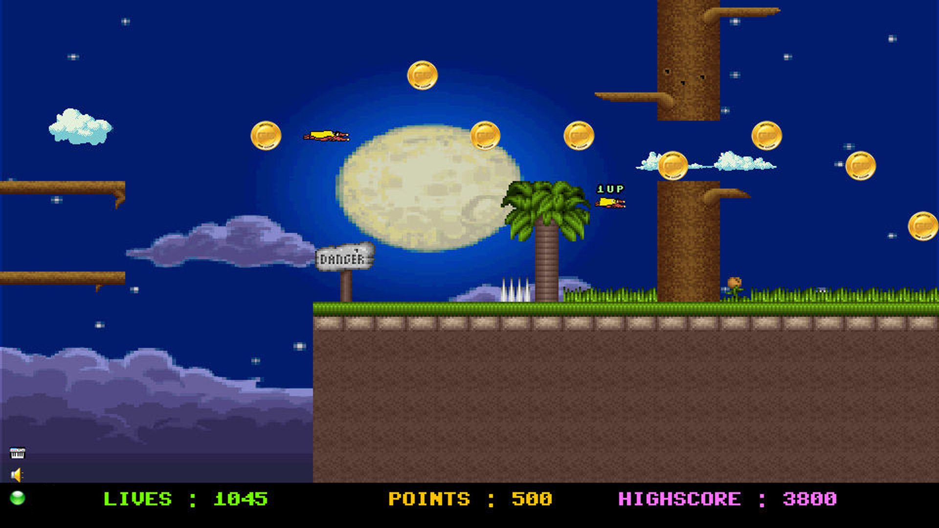 Flappy - Red Hero screenshot 1