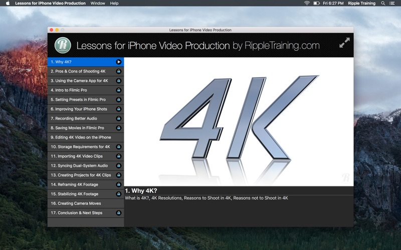 Lessons for iPhone Video Production | App Price Drops