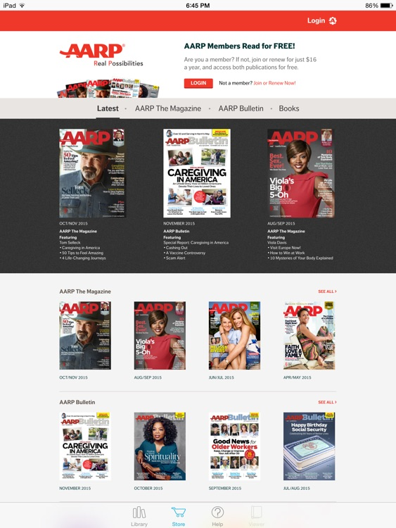 AARP Publications screenshot-0