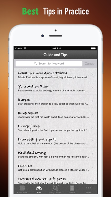 Tabata Protocol Workout 101: Tips and Tutorial screenshot-3