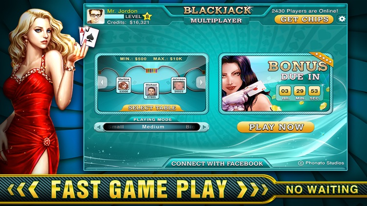 BlackJack Online - Just Like Vegas!