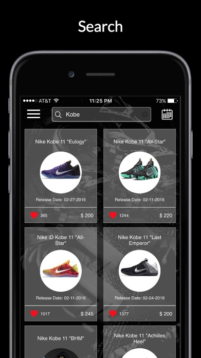Kicks: Release Dates & Sneaker News Screenshot
