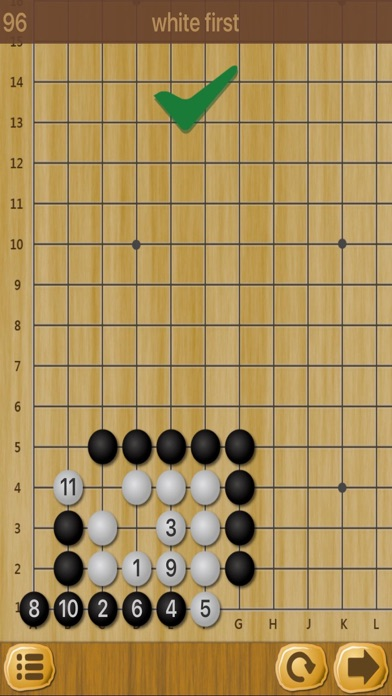 囲碁 - 詰め碁演習のおすすめ画像3