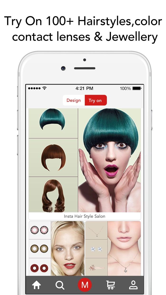 Bigger Lens Store-Creative Swap Face Hair Style Design,Power By Amazon Prime Cloud Screenshot