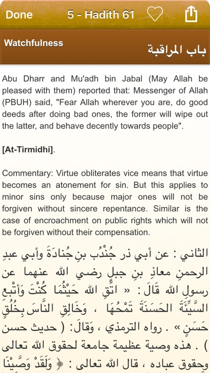 Riyad As-Salihin Audio mp3 in English and Arabic - +2000 Hadiths and Ayas of the Quran (Lite) - رياض الصالحين screenshot-4