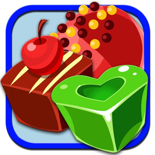 A yummy Candy Cake Match Puzzle - Free