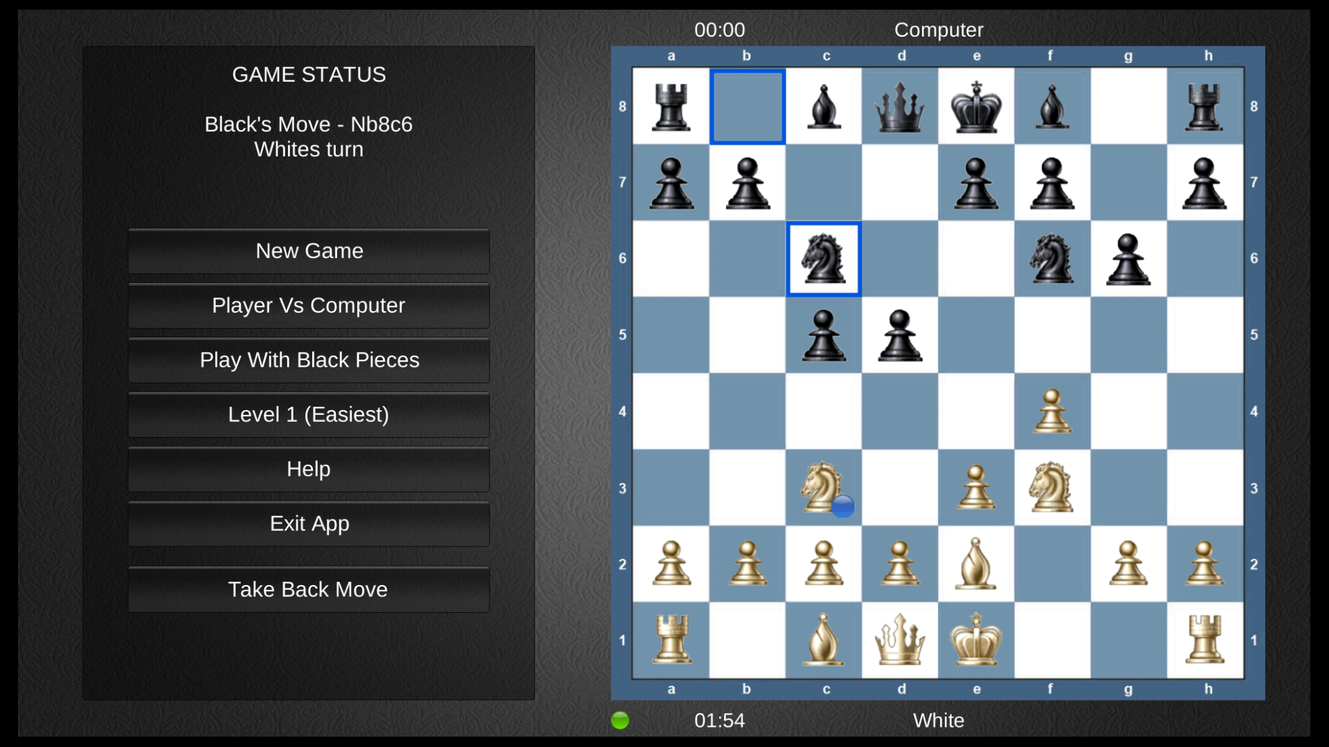 Chess for the TV screenshot 2