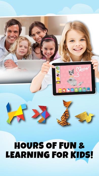 点击获取Kids Learning Puzzles: Birds, Tangram Playground