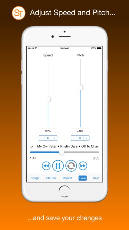 SongTool: Change Speed & Pitch, Loop Audio