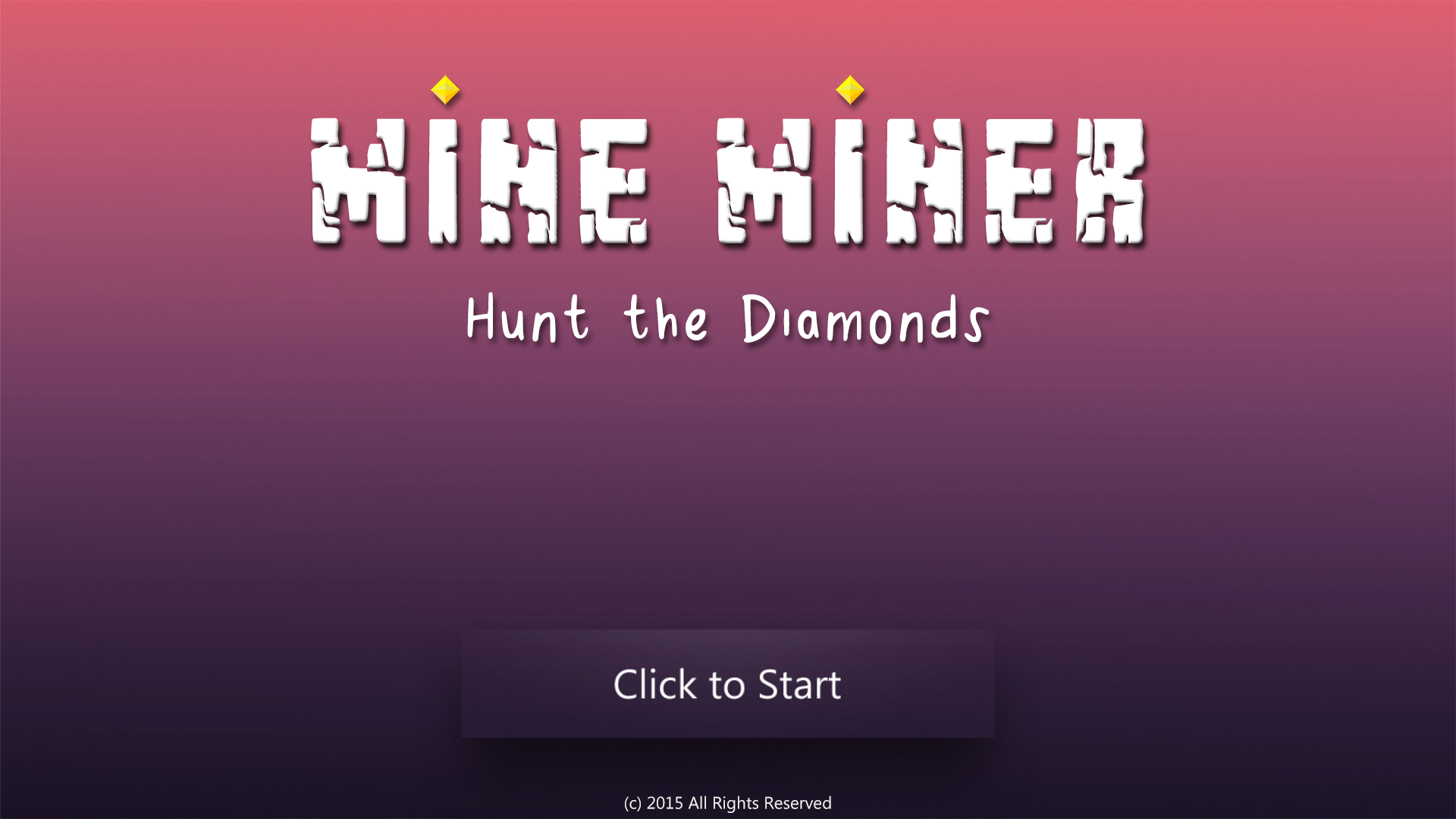 Mine Miner - Hunt the Diamonds! screenshot 1