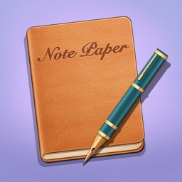 Note Paper for handwritten paper, old notebook