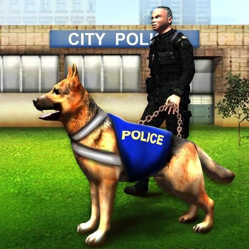 Полицейская собака Чейз симулятор 3D - Невозможный аэропорт игра погони моделирование