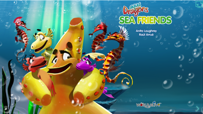 Aqua Dragons Sea Friends Interactive Book screenshot one