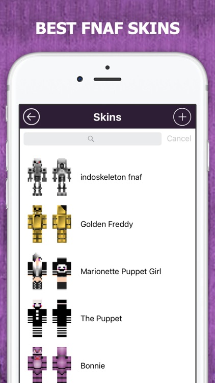 FNAF Skins for Minecraft screenshot-0