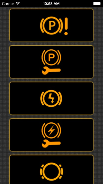 App for Mini Cooper warning lights and Mini Cooper problems screenshot-3