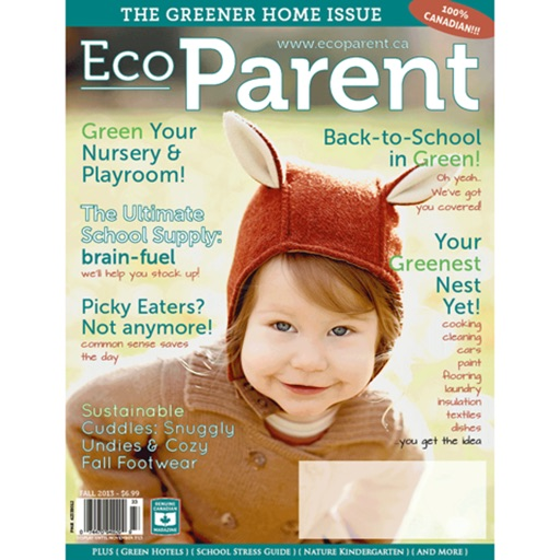 EcoParent magazine …making better choices happen…