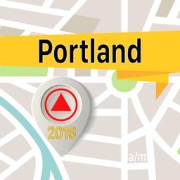 Portland Offline Map Navigator and Guide